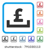 pound deposit placement icon.... | Shutterstock .eps vector #791030113