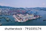 busan  south korea   july 2017  ... | Shutterstock . vector #791035174