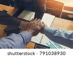 business and finance concept of ... | Shutterstock . vector #791038930