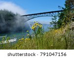 Scenic View Of Deception Pass...