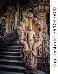 Small photo of Sanctuary of truth, Chonburi, Thailand.