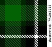 seamless tartan plaid pattern.... | Shutterstock .eps vector #791065318
