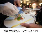 Blurry Background Of Chef Slid...