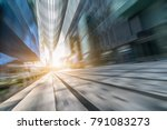 modern office building in the... | Shutterstock . vector #791083273