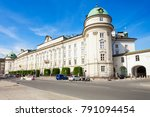 the hofburg imperial palace is... | Shutterstock . vector #791094454