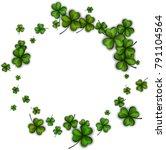 st. patrick's day background... | Shutterstock .eps vector #791104564