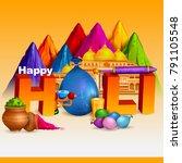 easy to edit vector... | Shutterstock .eps vector #791105548