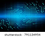binary circuit board future...   Shutterstock .eps vector #791134954