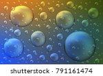 light blue  yellow vector... | Shutterstock .eps vector #791161474