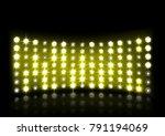 yellow stage light illustration