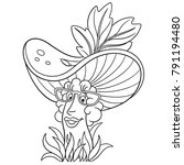 coloring page. coloring book....   Shutterstock .eps vector #791194480