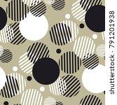 dynamic geometry seamless motif ... | Shutterstock .eps vector #791201938