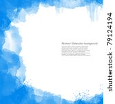 abstract watercolor background... | Shutterstock . vector #79124194