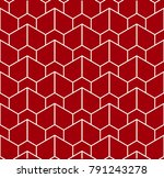 the geometric pattern with... | Shutterstock .eps vector #791243278