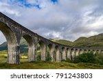glenfinnan viaduct in scottish... | Shutterstock . vector #791243803