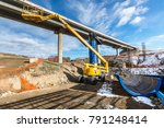 machinery industry  tescopico... | Shutterstock . vector #791248414