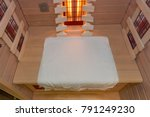 infrared cabin interior with a... | Shutterstock . vector #791249230