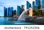 singapore   aug 8  2017  ... | Shutterstock . vector #791252506
