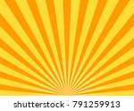 abstract yellow sun rays vector ... | Shutterstock .eps vector #791259913