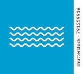 wave icon vector   | Shutterstock .eps vector #791259916