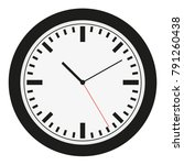 watch dial. clocks face dial... | Shutterstock .eps vector #791260438