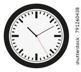 watch dial. clocks face dial...   Shutterstock .eps vector #791260438
