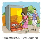 clean india green india | Shutterstock .eps vector #791300470