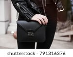 detail of a fashionable woman... | Shutterstock . vector #791316376