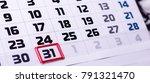calendar days  background | Shutterstock . vector #791321470