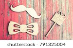 happy fathers day background | Shutterstock . vector #791325004