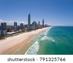 aerial view of australian city... | Shutterstock . vector #791325766
