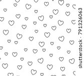 Hearts Love Decorative Pattern...