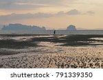 sunset with cloud at klong...   Shutterstock . vector #791339350