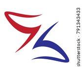 letter z logo  | Shutterstock .eps vector #791343433