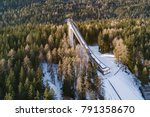 cortina  italy   circa december ... | Shutterstock . vector #791358670