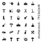 tools icons set | Shutterstock .eps vector #791362648