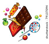 appetite,art,background,bar,black,block,brown,candies,caramel,chocolate,clip,dainties,dessert,diet,fat