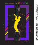 jazz music festival abstract...   Shutterstock .eps vector #791380630