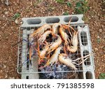 Small photo of shrimp gill food delicious
