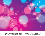 concept of the science ... | Shutterstock .eps vector #791396860