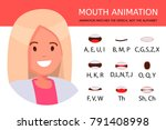lip sync collection for...   Shutterstock .eps vector #791408998