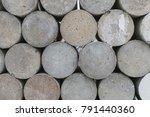 concrete walls made of concrete ...