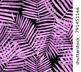 watercolor seamless pattern... | Shutterstock . vector #791451166
