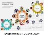 business concepts for analysis... | Shutterstock .eps vector #791452024