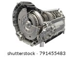 cross section of a clutch and... | Shutterstock . vector #791455483