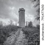 Small photo of Flounders' Folly on Callow Hill, near Craven Arms, Shropshire, England.