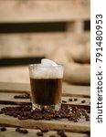 coffee i love it  still life of ... | Shutterstock . vector #791480953