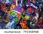 guadalajara  spain   july 19 ... | Shutterstock . vector #791508988