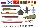 Russian Army Military Vector...
