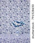 monotone dutch delft blue still ... | Shutterstock . vector #791528650